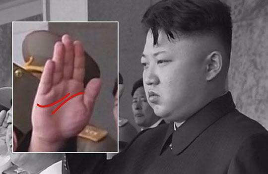김정은과 김정남 손금보니 엇갈린(?) 운명이었다··· 박대통령은?