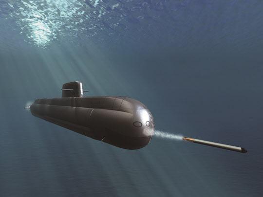 장보고III 잠수함 상상도