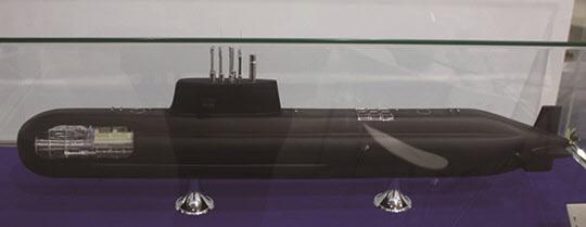 장보고III 잠수함 모형