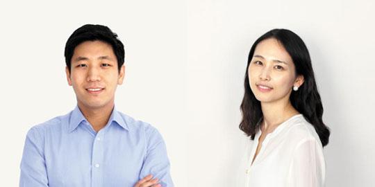 (왼쪽부터) 함종민 이사. 장혜선 이사.