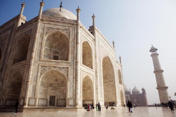 인도, 세계 7대 불가사의 '타지마할'