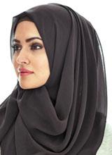 무슬림 여성이 머리 가리개인 '히잡(Hijab)'을 쓰고 있다.