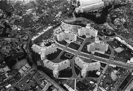 1962년 서울 마포구 도화동에 들어선 마포아파트는 국내 최초의 단지형 아파트로 꼽힌다.