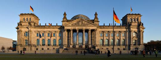 독일 베를린 연방의회 의사당