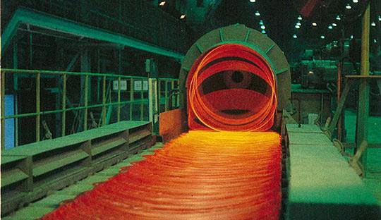 선재공장의 제품생산 모습