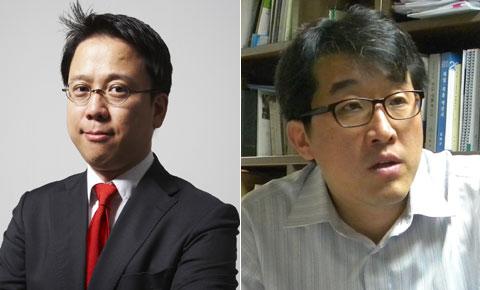 김호 더랩에이치 대표(왼쪽), 유민영 에이케이스 대표.