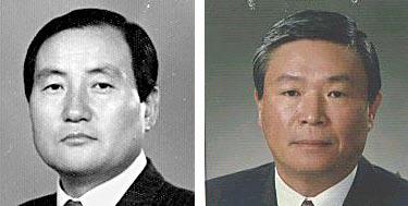 장익룡 (주)서광 회장(왼쪽), 장봉룡 진로발효 회장./조선일보DB
