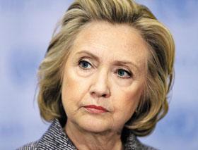 힐러리 클린턴 전 미국 국무장관.