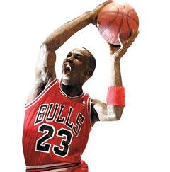 1980~1990년대에는 마이클 조던(아래)이 NBA 전체를 대표하는 수퍼스타였다. 그러나 최근에는 각 구단별로 기량이 탁월한 여러 스타들이 나타나면서 NBA 경기력 자체가 향상됐다는 평가를 받는다.