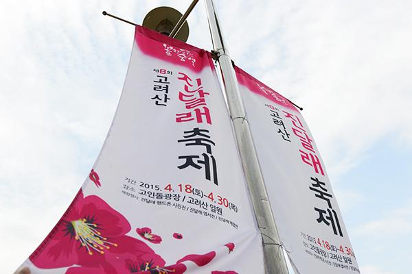 고려산 진달래축제는 4월 18일부터 30일까지 진행된다.