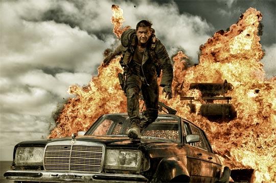 '매드맥스: 분노의 도로'에서 맥스(톰 하디)의 목표는 생존뿐이다.