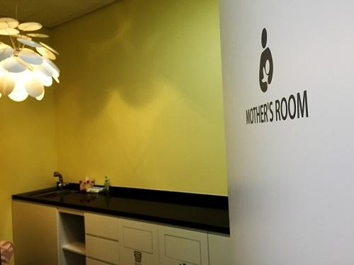 구글 캠퍼스 서울에 마련돼 있는 mother's room./박원익 기자