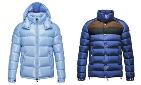 몽클레르의 스테디셀러 재킷인 마야(왼쪽)와 브레발