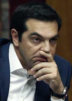알렉시스 치프라스 그리스 총리