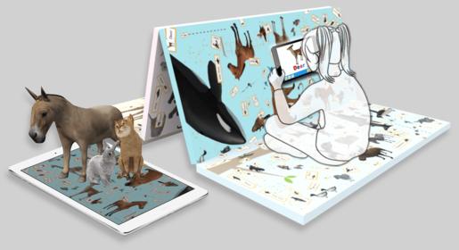 증강현실과 유아교육을 적용한 신개념 교육용 유아매트 '3D AR Mat'
