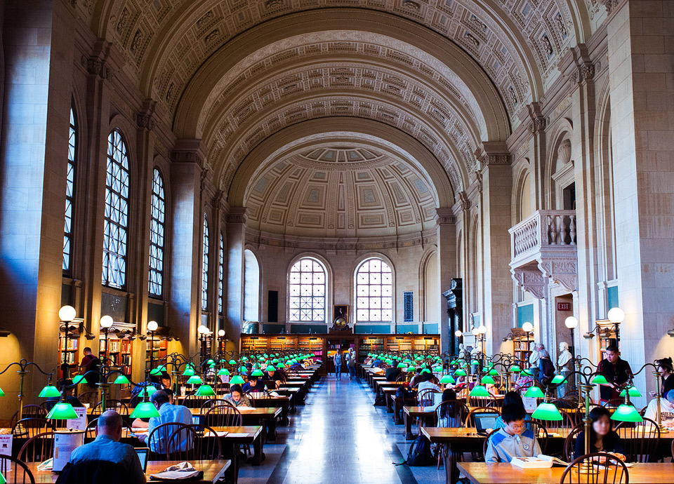 BBC 선정 '세계에서 가장 아름다운 도서관 10'