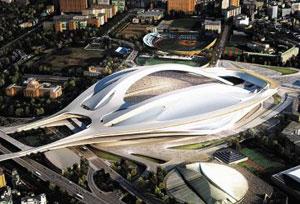 2020년 도쿄올림픽 주경기장 조감도.