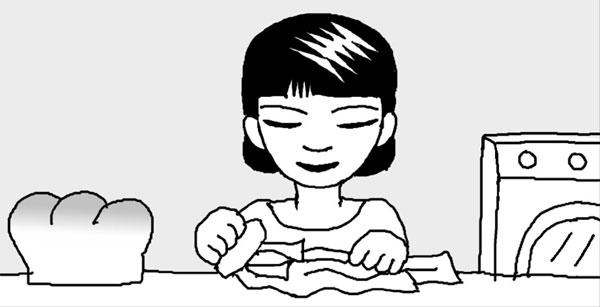 [리빙포인트] 와이셔츠 목때 지울 땐