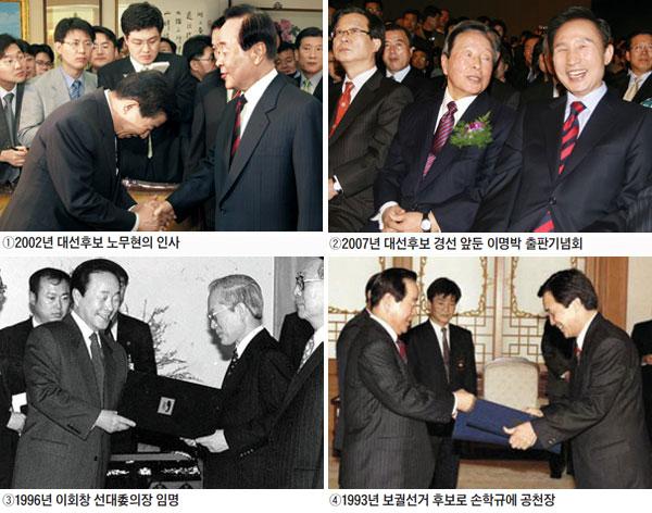 김영삼 전 대통령이 발탁한 정치인들은 대한민국 정치를 이끌어왔다.