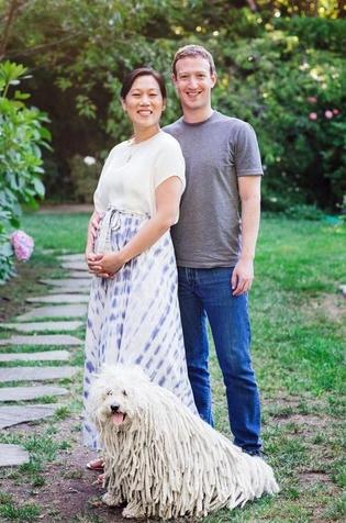 임신 후 처음 모습을 드러낸 프리실라 챈(왼쪽), 마크 주커버그 페이스북 CEO / 블룸버그 제공