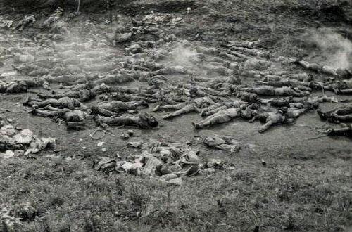 9사단의 끈질긴 항전에 중공군은 엄청난 시신을 남기고 결국 백마고지에서 물러났다. US ARMY 제공