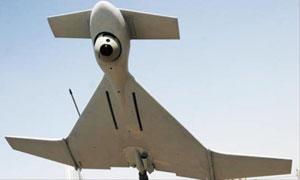 우리 군에서 개발할 체공형 스텔스 무인공격기와 유사한 이스라엘의 자폭형 무인타격기 '하롭'.