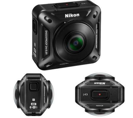 니콘이 공개한 360도 촬영 카메라의 모습 /니콘 제공