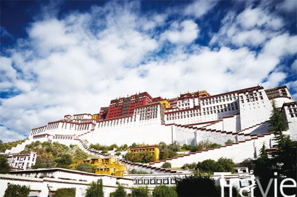 포탈라궁은 세계에서 가장 높은 지대에 위치한 왕궁이다.