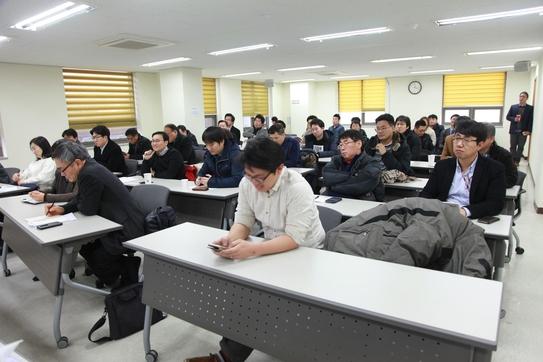 조선비즈가 29일 '가상현실의 부상과 한국의 전략'이라는 주제로 개최한 세미나에서 참석자들이 전문가 강연을 경청하고 있다. / 조선비즈 DB
