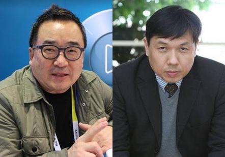김영세 이노디자인 대표(왼쪽)와 심현철 카이스트 교수
