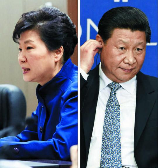 한·중 관계가 지난달 북한의 4차 핵실험 이후 삐걱대고 있다. 중국이 대북 제재에 소극적인 모습을 보이면서 박근혜(왼쪽) 대통령이 시진핑(오른쪽) 중국 국가주석에게 크게 실망한 것으로 전해졌다.