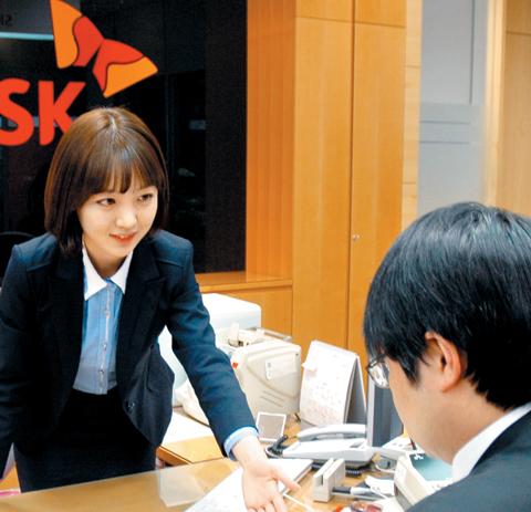 서울 여의도 SK증권 상담창구 모습. SK증권은 자산관리사업을 중심으로 새로운 경쟁력을 확보해 나가고 있다.