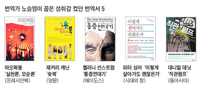번역가 노승영이 꼽은 성취감 컸던 번역서 5 사진