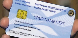 에스토니아의 '이-레지던시(e-Residency)'카드. 이 카드를 발급받으면 국적과 상관없이 해외에서도 2주 안에 에스토니아에 회사를 설립할 수 있다.