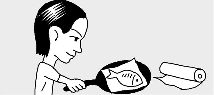 [리빙포인트] 생선, 포일로 감싸면 잘 익어