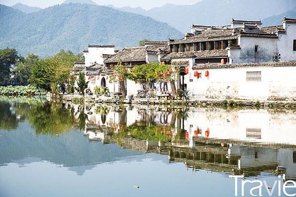 후이저우 문화를 잘 볼 수 있는 홍춘. 영화 <와호장룡>의 배경으로 등장하기도 했다