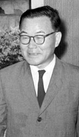 윤보선 전 대통령 사진