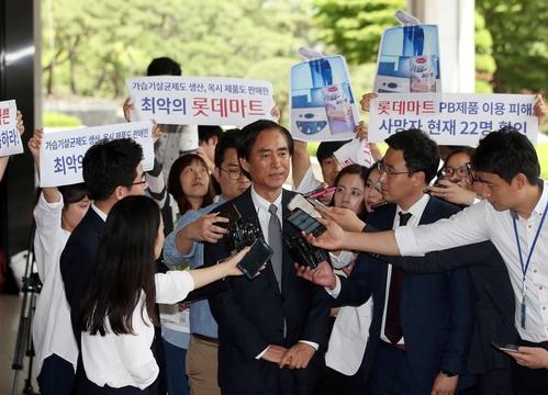 검찰 압수수색, 계열사 사장 소환, 방송 영업 금지···롯데 ...
