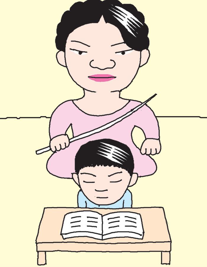 아이 독서 지도, 스파르타式으로!