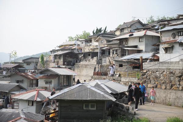 순천 드라마 세트장에서 서울 봉천동 달동네의 풍경을 만날 수 있다.