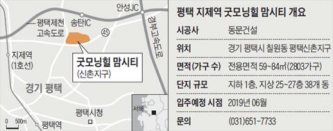 굿모닝힐 맘시티 위치 지도