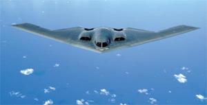 스텔스 전략폭격기 B-2 사진