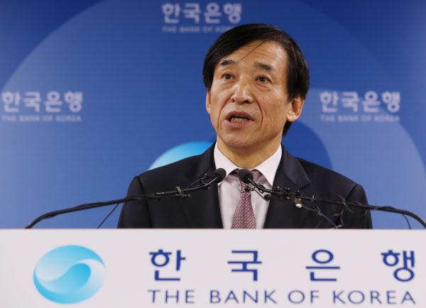 한국은행 내년 성장률 전망 2.8%로 0.1%p 낮춰