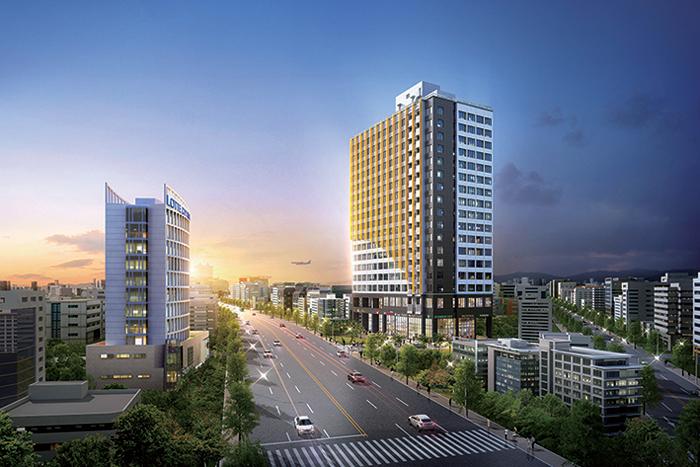 신제주 중심의 오피스텔… 인근엔 제주드림타워·제2첨단기술단지 등 대규모 개발 계획