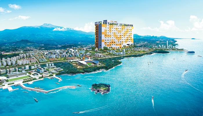 한라산·서귀포 바다 한눈에… 中 관광객 전용 분양형 호텔