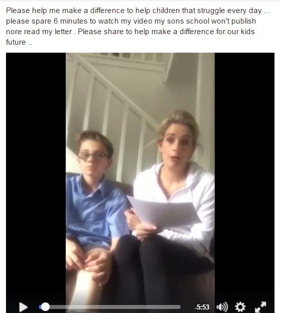 학교에서 반 친구를 괴롭히는 아들을 '변호'한 엄마의 공개 서한