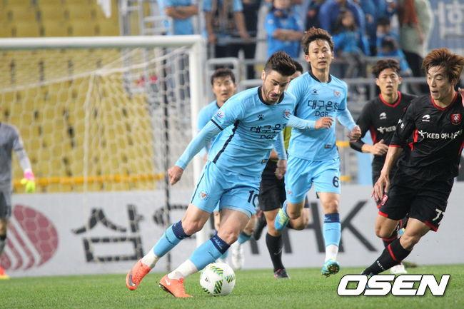 대구FC, 부천과 0-0 무승부 '2위 유지'
