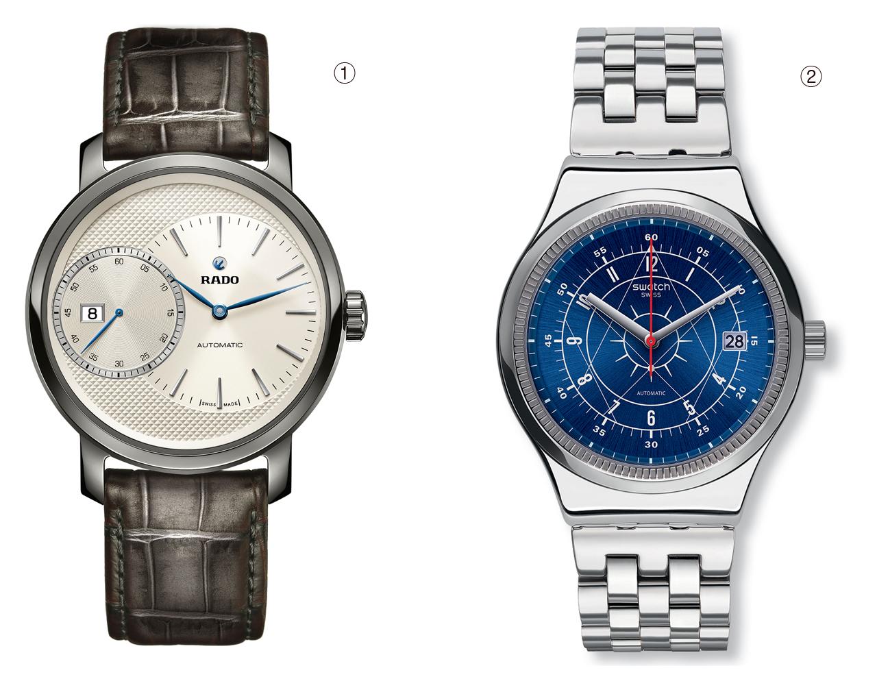 론진·라도·티쏘… 名品 오토매틱 시계 한자리에
