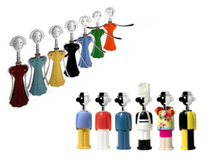 멘디니가 디자인한 와인오프너 안나G와 알렉산드로 M. 세계에서 가장 유명한 와인 따개 커플이다./사진 제공=아틀리에 멘디니.