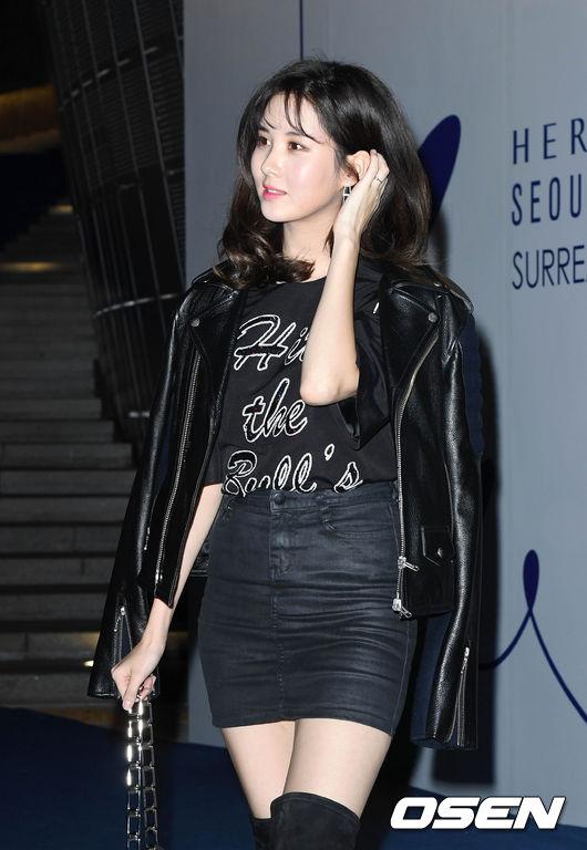 [사진]소녀시대 서현,'아름다운 블랙 여신'